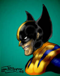 Wolverine bust digital paint complete~ by LoganTRSeymour