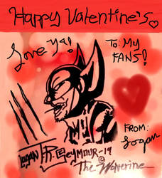 Wolverine wishes you a happy Valentines! by LoganTRSeymour