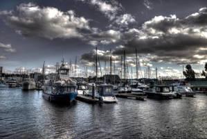 Ipswich Marina, Suffolk, UK by aglezerman