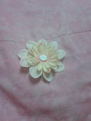 Flower Hair Clip by jetticana