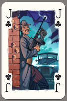 Jack of Clubs by Lipatov