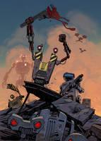 Robot rebellion by Lipatov