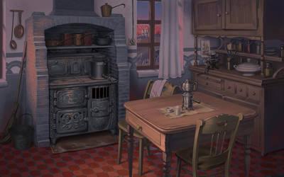 1920s Interior 1 by Lipatov