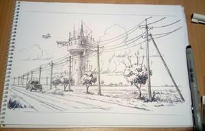 Album Sketch by Lipatov