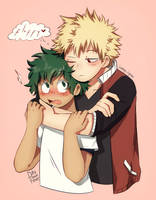 KatsuDeku collab with iamy.cyan by Day-Dream-Fever