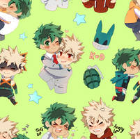 BAKUDEKU PATTERN by Day-Dream-Fever