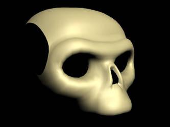 Ape Skull by Marsuwai
