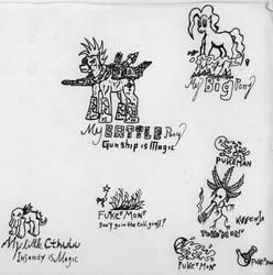 Ponies and Parodies by Marsuwai