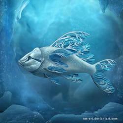 Snowflakefish by NM-art