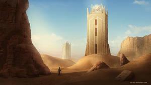 Desert Area by NM-art