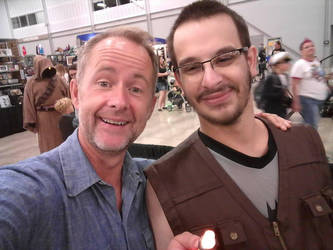Billy Boyd and I! by htrevor28