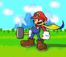 My Super Mario by Mustashio