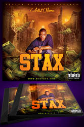 Stax Mixtape Cover Template by MadFatSkillz
