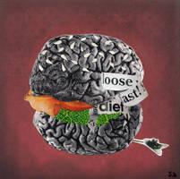 Anorexia nervoza: Food scares me... by annasandalaki