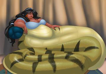 Big Naga Jasmine by LordAltros