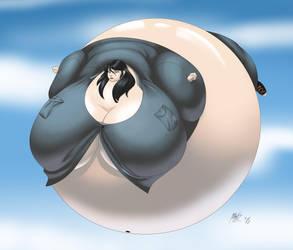 High Flying Balloon 2 by LordAltros