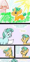 MLP comic Tales of the Snailmancer 1 by HareTrinity