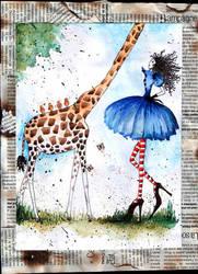 la girafe... by petitpoids