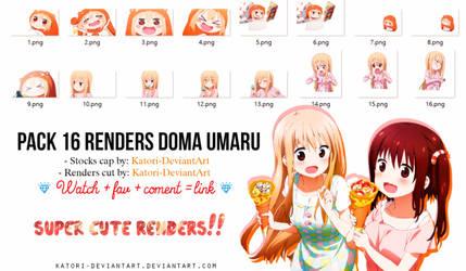 PACK 16 RENDERS DOMA UMARU by Katori-Rinfu