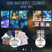 2000 WATCHERS PACK by Katori-Rinfu
