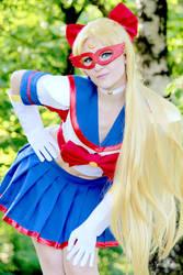 Sailor V by FairymoonCosplay