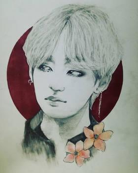 fanart - BTS - Taehyung by AliceRossi