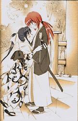 Kenshin and Kaoru6 by BattleAngelGally
