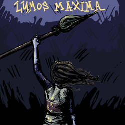 Lumos Maxima and Brooms Up by Raire