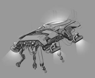 Daily robot v2 6 by RobertLaszloKiss