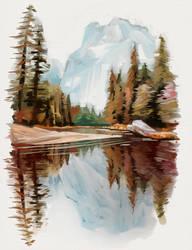 Painting study 2 by RobertLaszloKiss