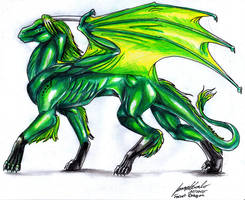 Forest Dragon by Lowrider-Girl