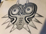 Sketch - Majora's Mask by Foltzy