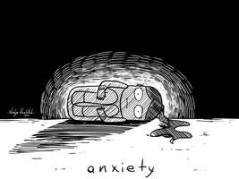 Anxiety by nakovalnya-artist