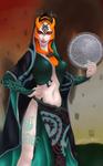 Hyrule Warriors Midna by Shearah