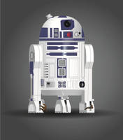 R2-D2 by JediBandicoot