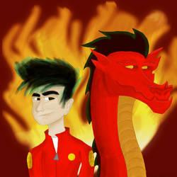 American Dragon Jake Long by JediBandicoot