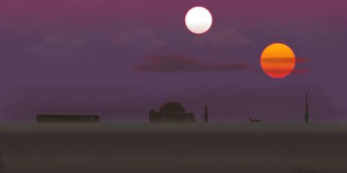 Tatooine by JediBandicoot