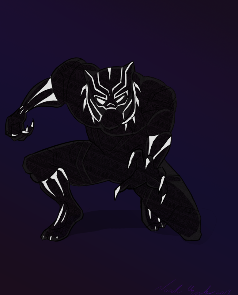 Black Panther by JediBandicoot