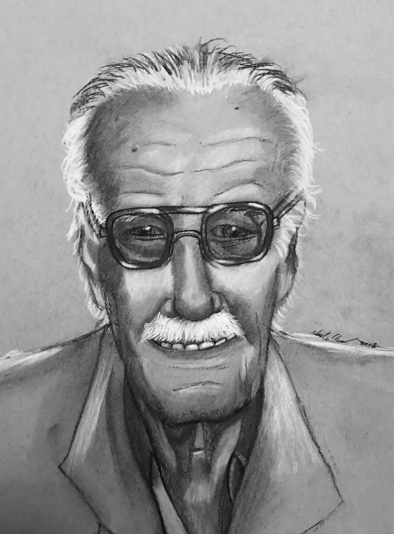 Stan Lee (1922-2018) by JediBandicoot