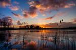 Sun Go's Down in Holland by Betuwefotograaf