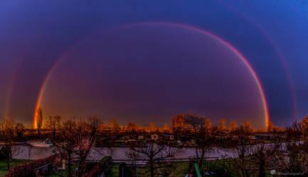 Under The Dome   2.0 by Betuwefotograaf
