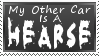 Hearse Stamp by MacabreVampire