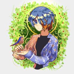 blue bird by w22986703