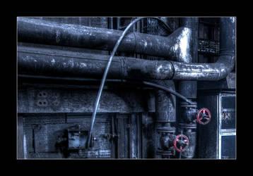 Red Handwheels by 2510620