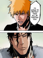 Bleach 475. Ichigo vs Ginjou by avnkoan