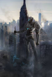 Jaegar Prototype: Echo Infinite - NYC by avnkoan