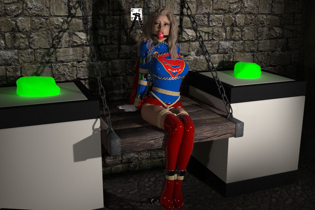 Supergirl in Trouble by MartyMartyr1