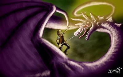 Killing The Dragon by Dracarys-Art