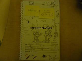 My student planner by FlareonHakureiSama