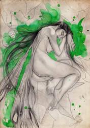 Sleeping Fairy by Heteferes